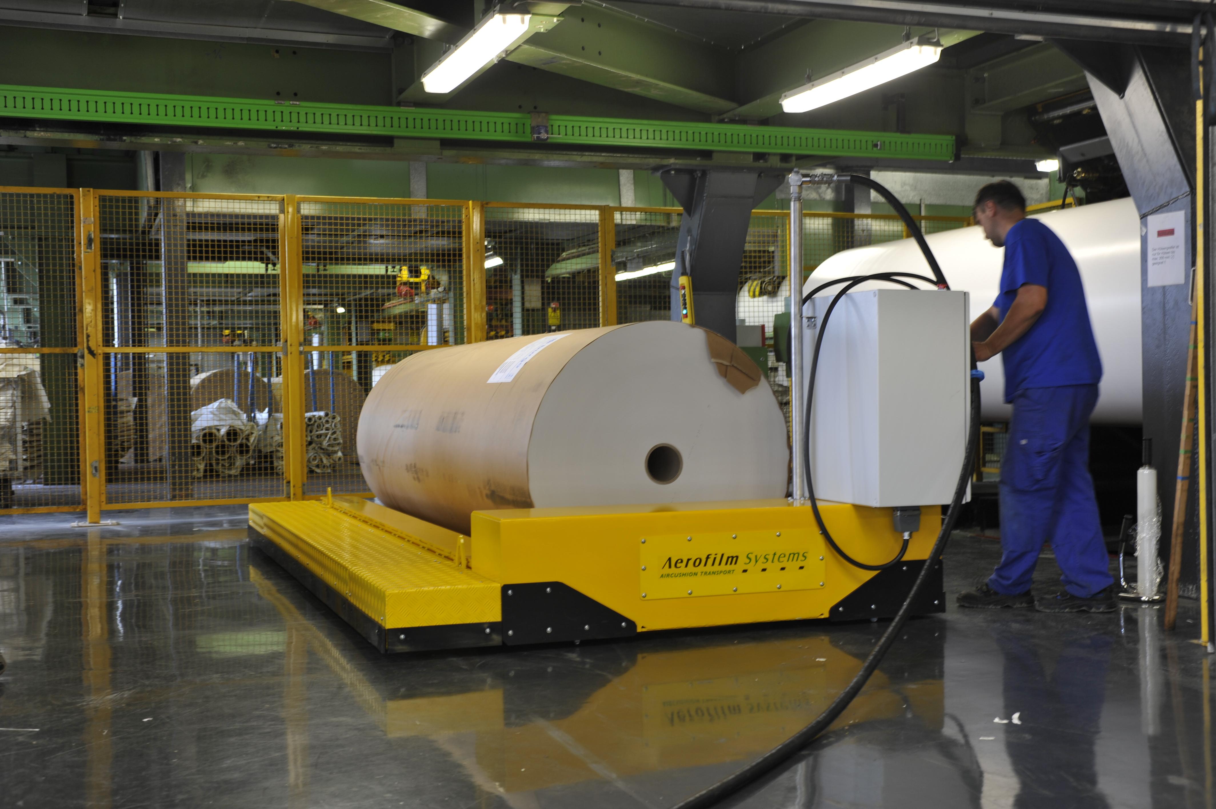 Heavy Transport Rolls Aerofilm Systems